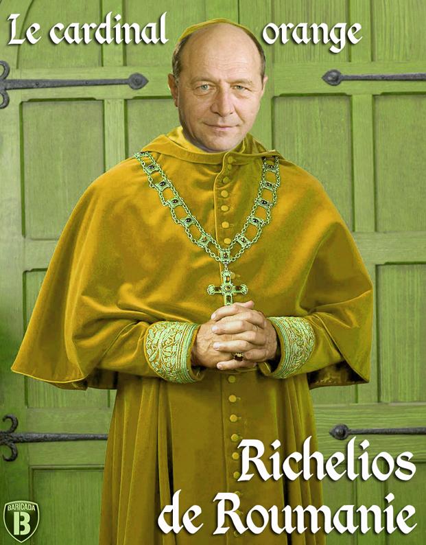 Traian Basescu - Cardinalul Portocaliu